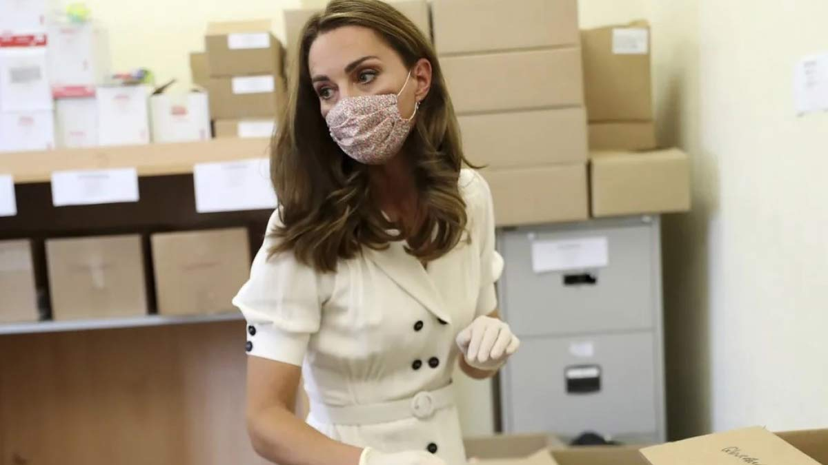 Preparación de Kate Middleton para ser reina