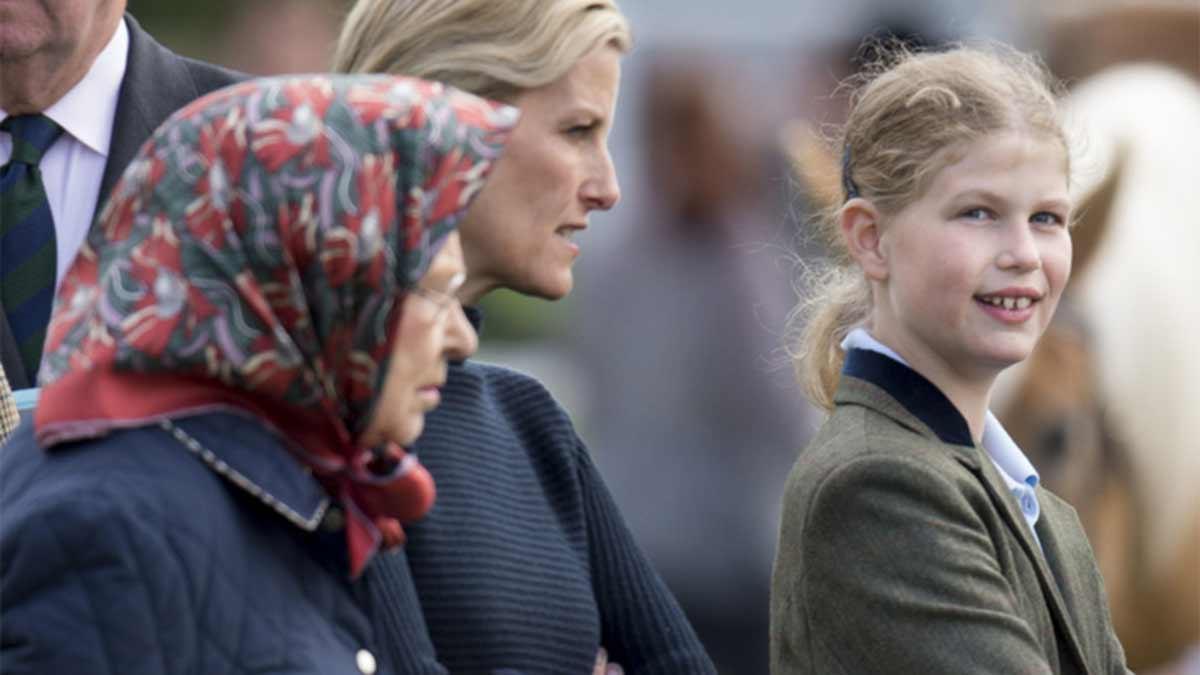 Lady Luisa mountbatten reemplazará a Meghan Markle