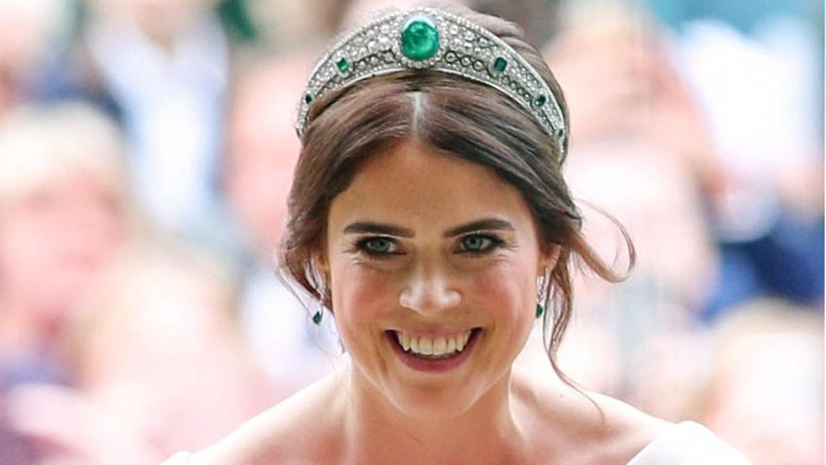 Princesa Eugenia sin maquillaje