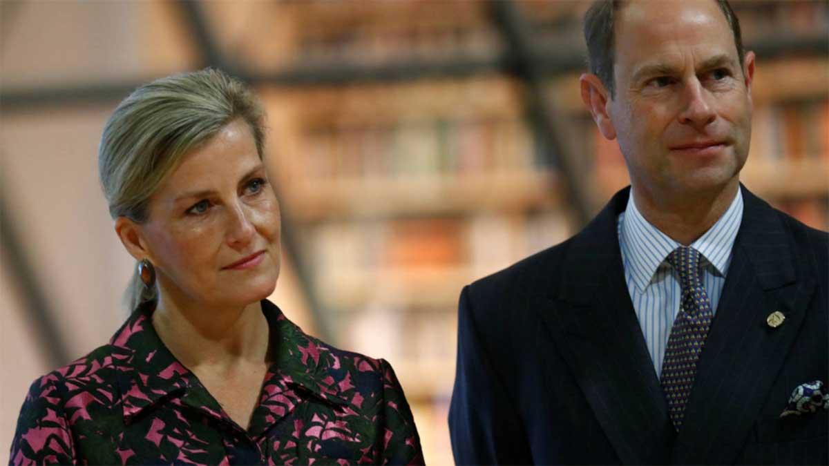 conde Eduardo y Sofía de Wessex