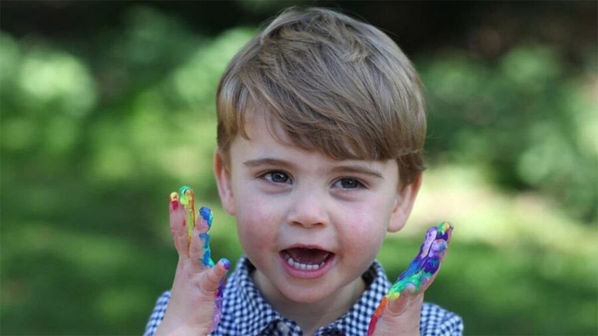 fotos del príncipe Louis de Cambridge