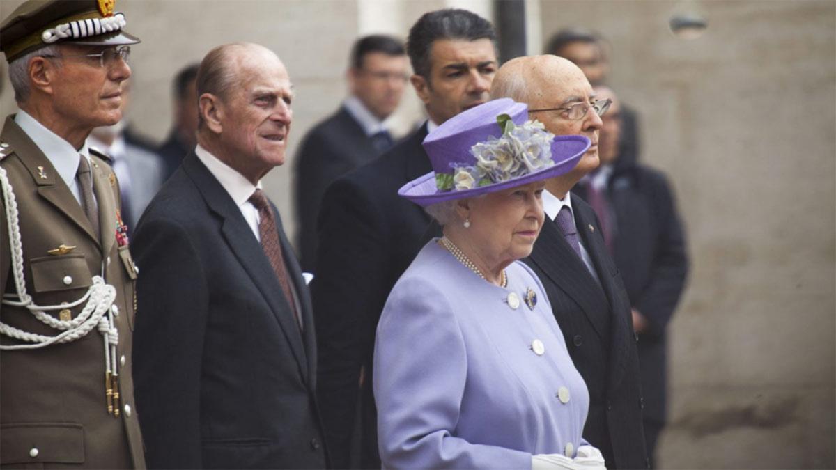 página web de la realeza británica