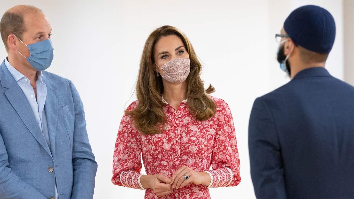 Reaparición de Kate Middleton