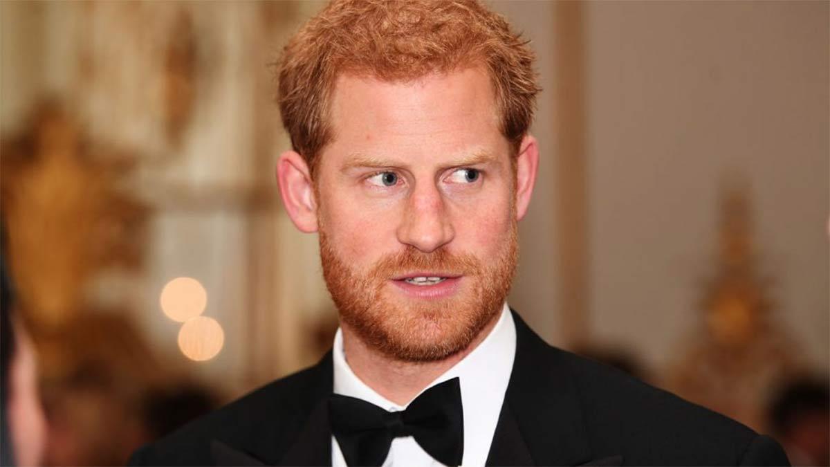 Nuevo look del príncipe Harry
