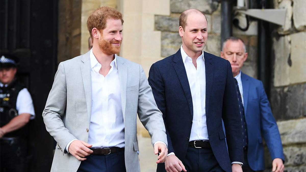 Relación entre William y Harry