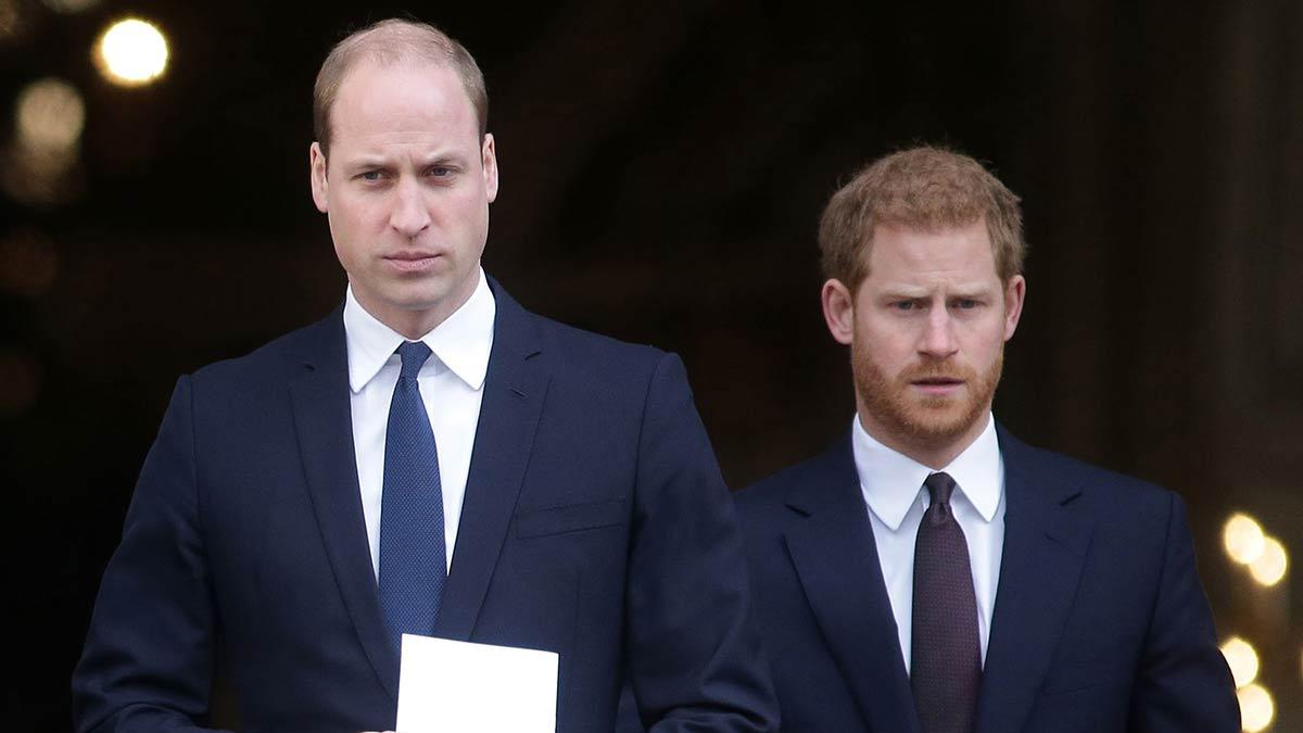 Foto del príncipe William y Harry por su cumpleaños