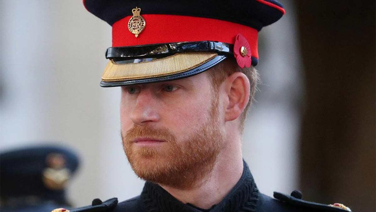 Títulos militares del príncipe Harry