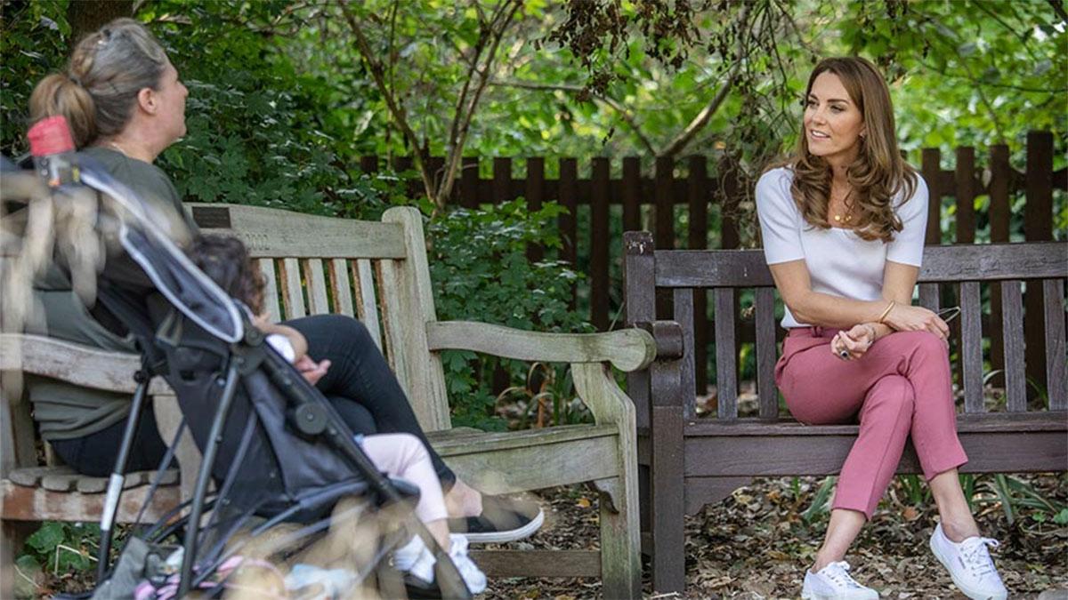 Encuentro de Kate Middleton con los padres