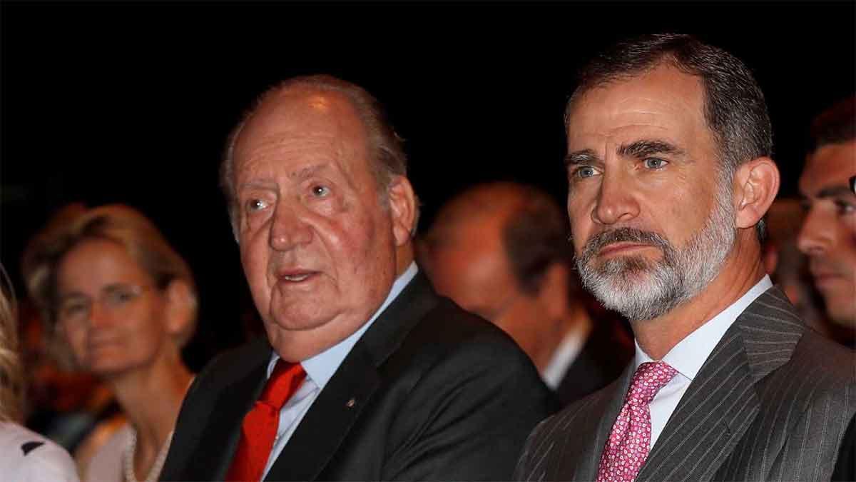Conversaciones entre el rey Felipe y don Juan Carlos