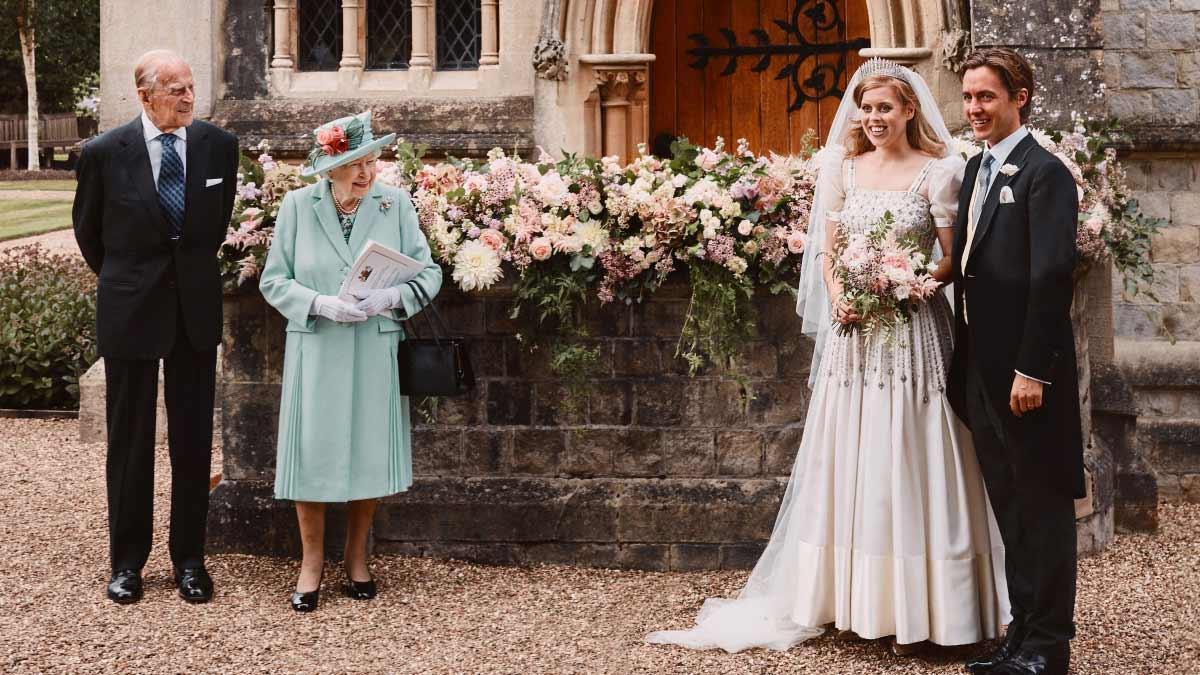 Nuevas fotos de la boda de la princesa Beatriz