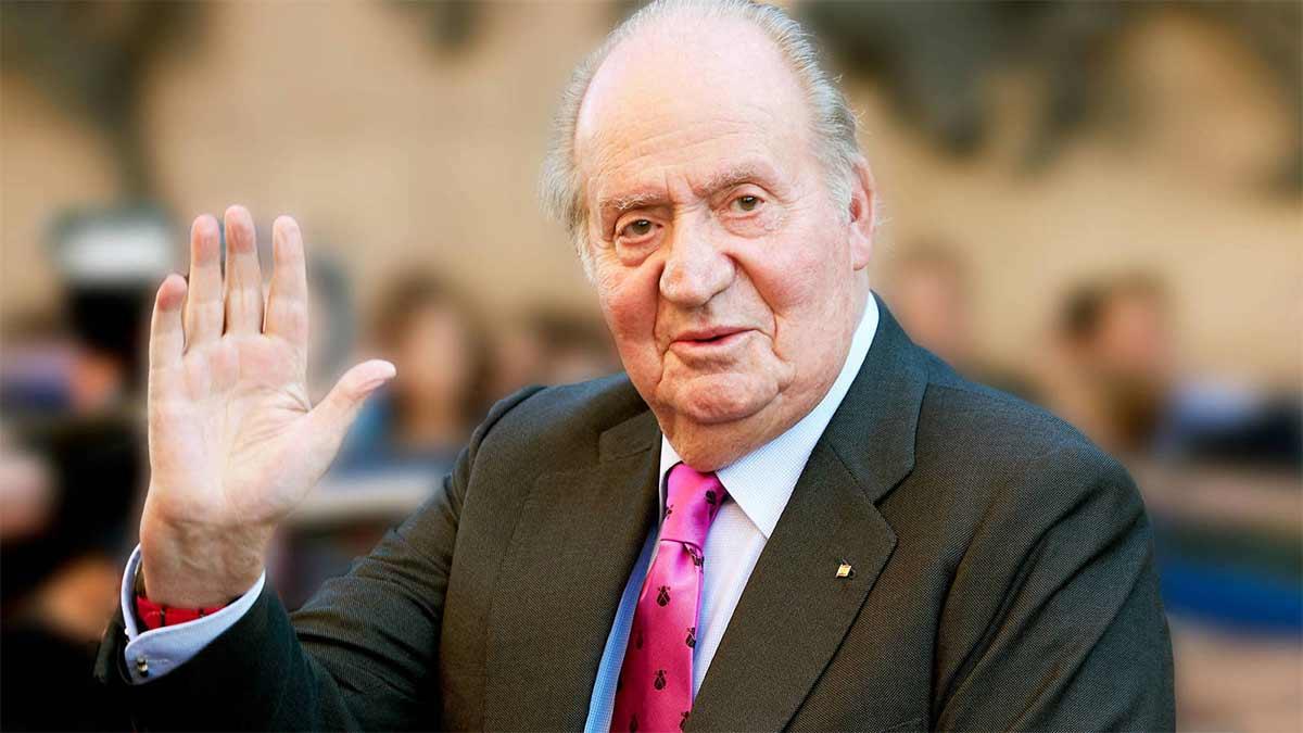 Retiro de la Medalla de Oro al rey Juan Carlos