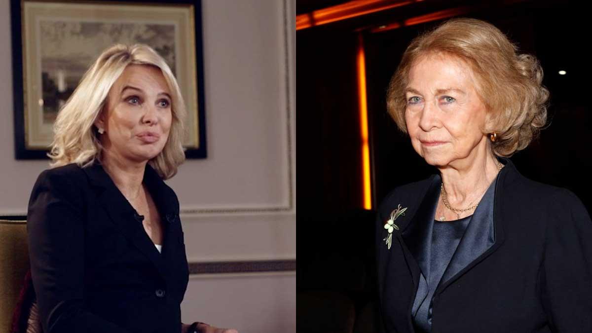 Corinna Larsen sobre la reina Sofía