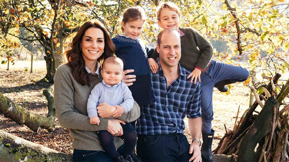 hijos de los duques de Cambridge a David Attenborough