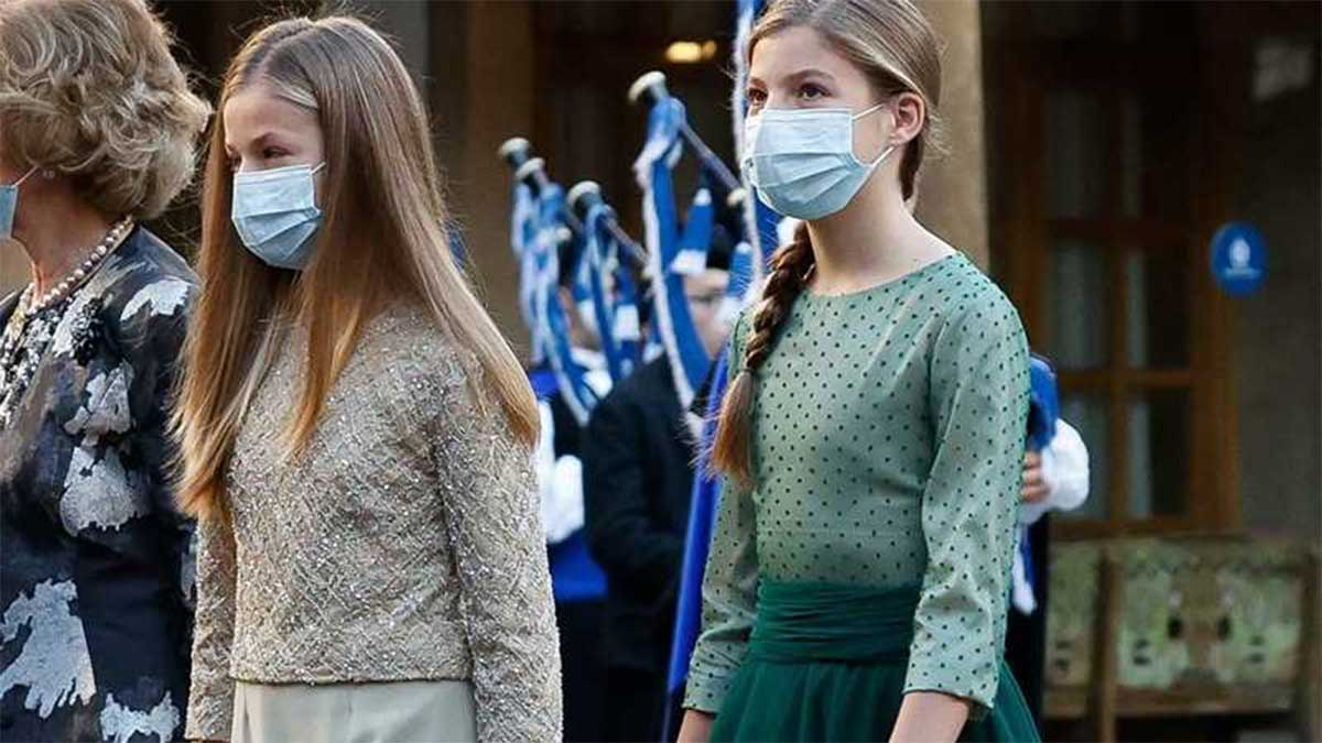 princesa Leonor y Sofía en los Premios Princesa de Asturias