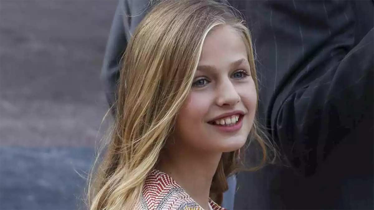 Fotos del cambio de look de la princesa Leonor