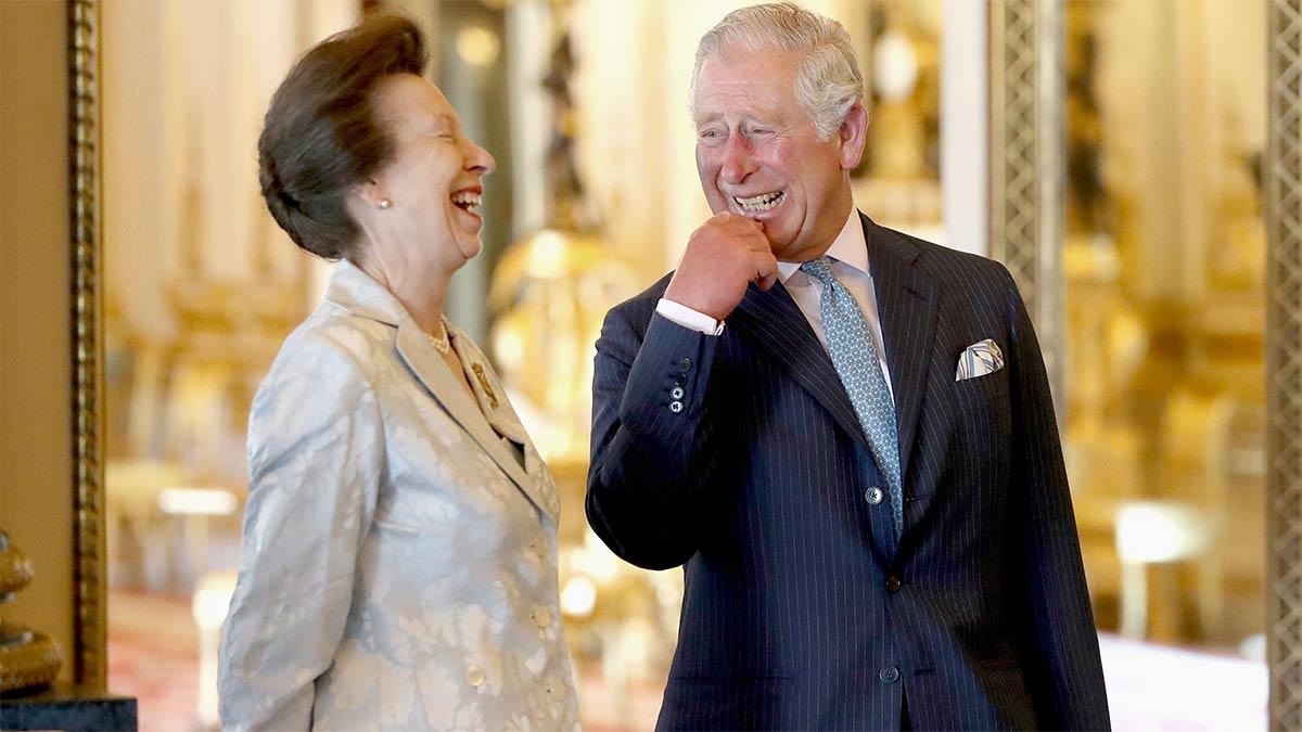 Planes del príncipe Carlos para la princesa Ana