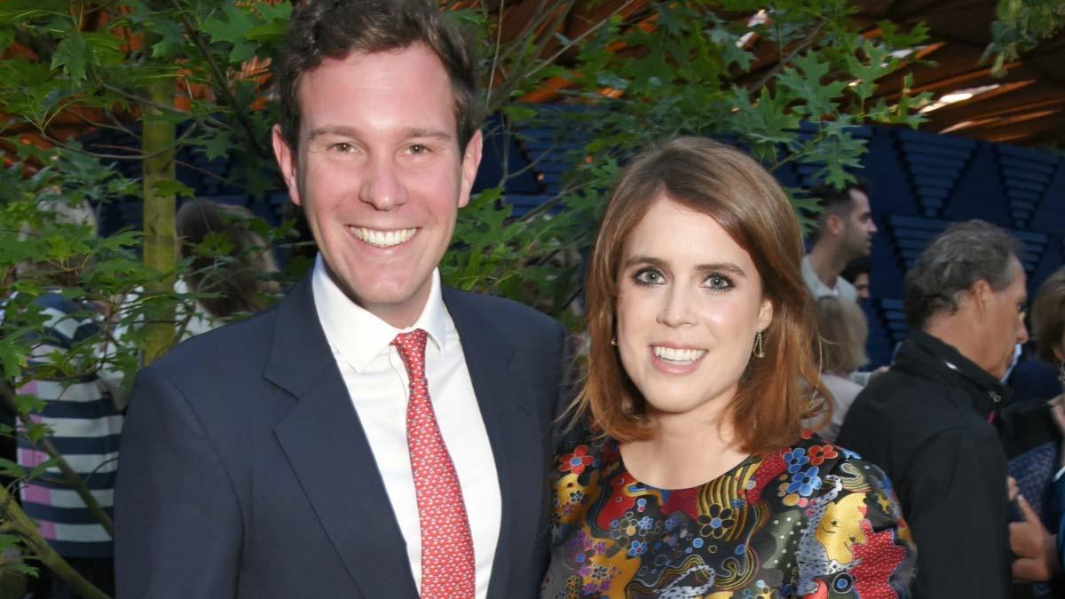 Aniversario de la princesa Eugenia y Jack Brooksbank