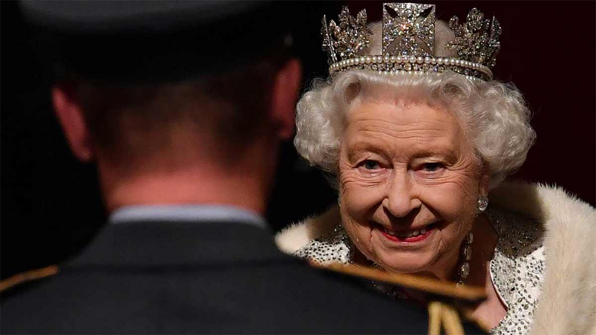 Cuadro de la reina Isabel hecho por el Gobierno de Canadá