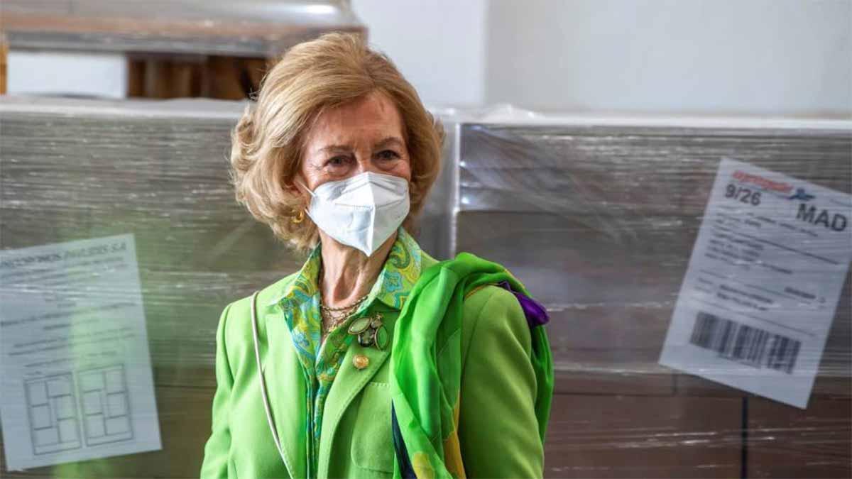 Compromisos oficiales de la reina Sofía