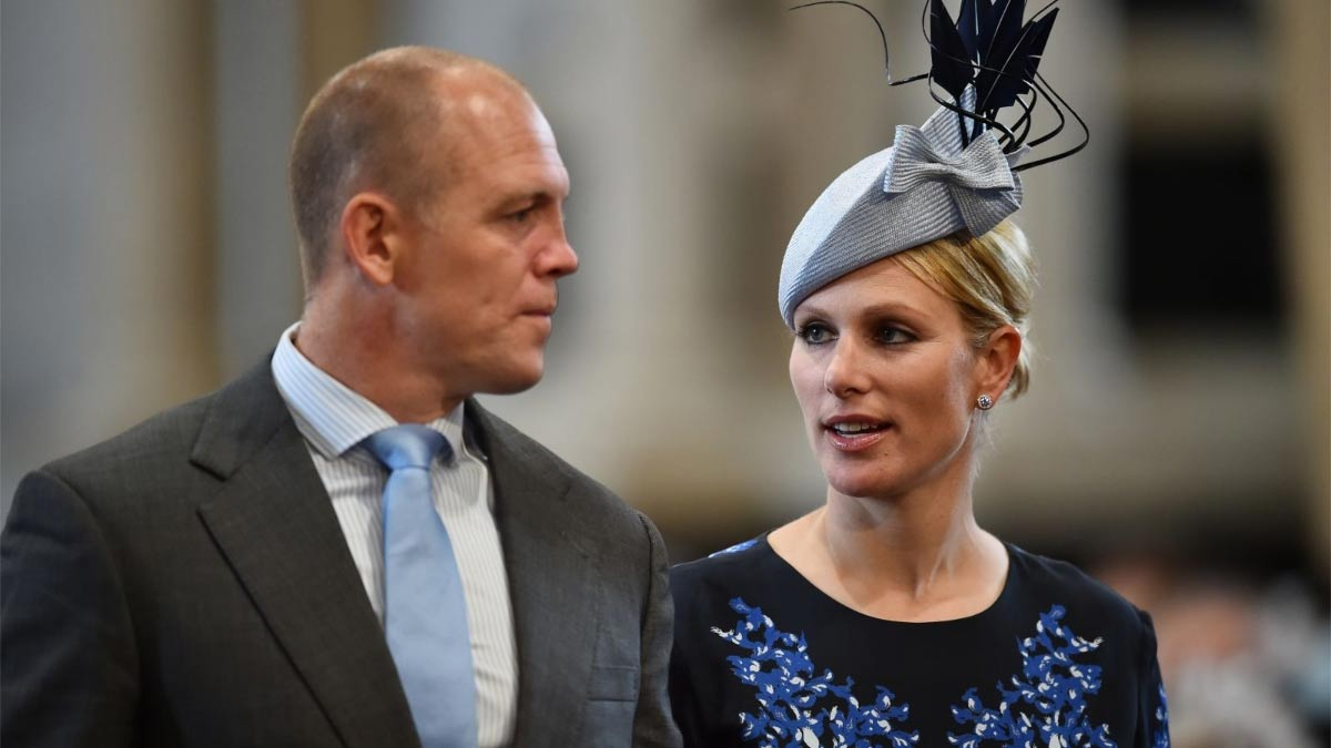 esposo de Zara Tindall sobre The Crown