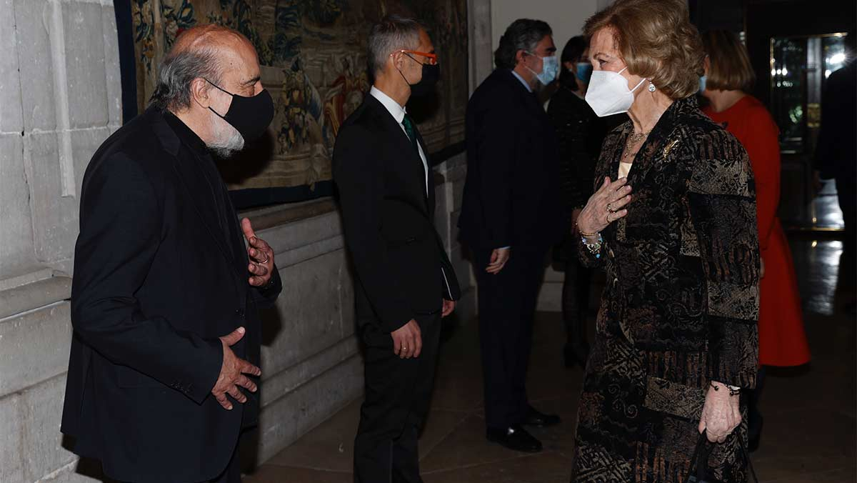 Doña Sofía en la entrega del Premio Reina Sofía de Poesía Iberoamericana