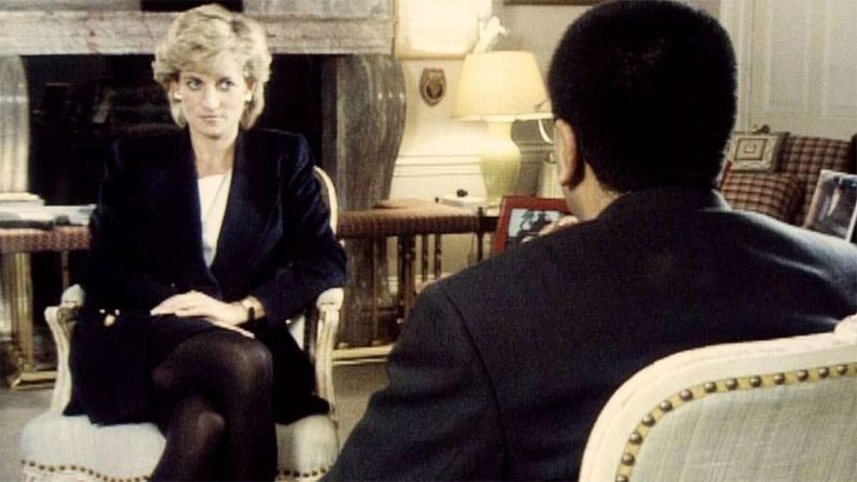 entrevista de la BBC a la princesa Diana