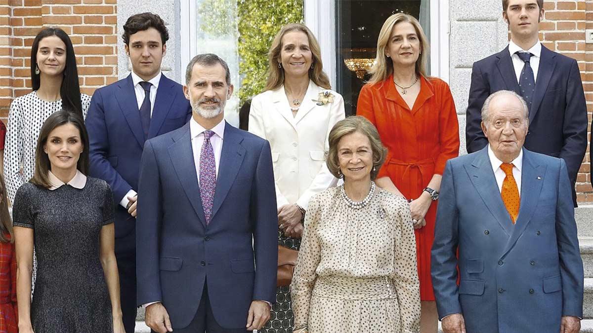 Popularidad de la familia real española