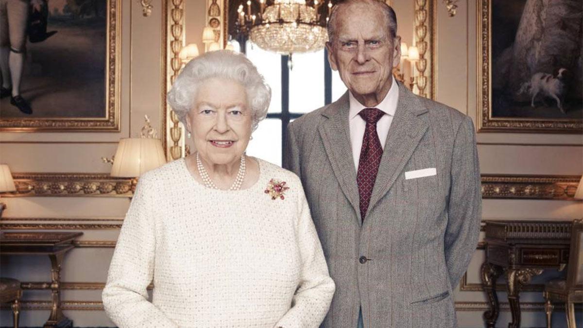 Celebración del aniversario de la reina Isabel y Felipe