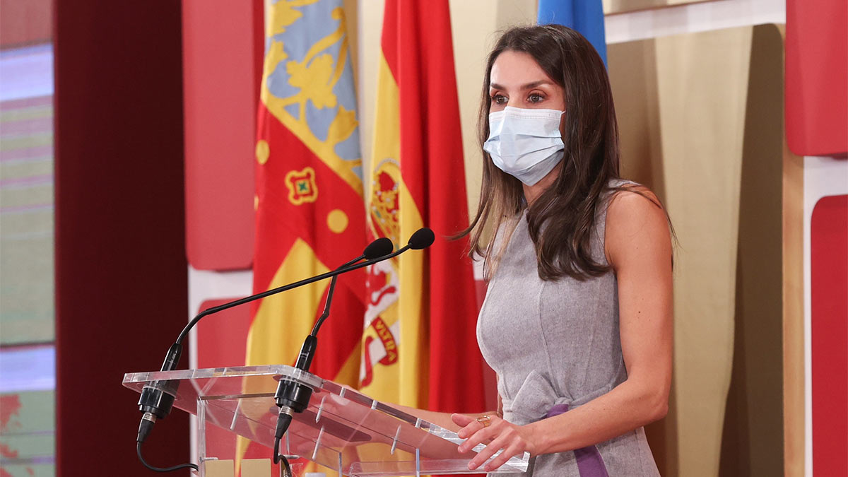 La reina Letizia en los premios Jaume I