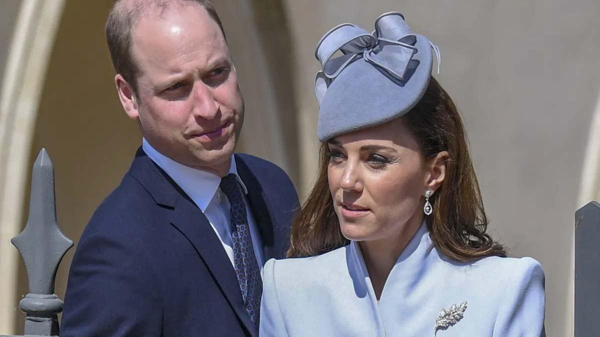 celos del príncipe William