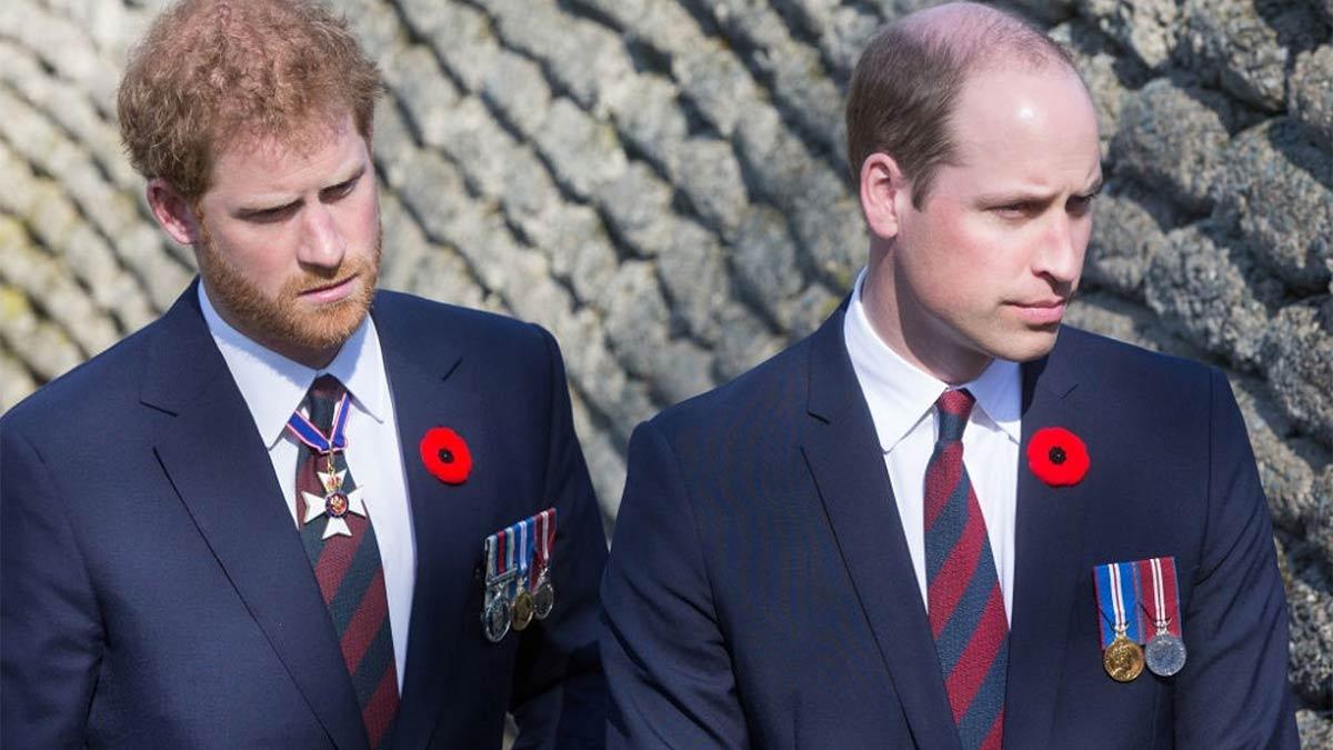 William y Harry contra la serie The Crown
