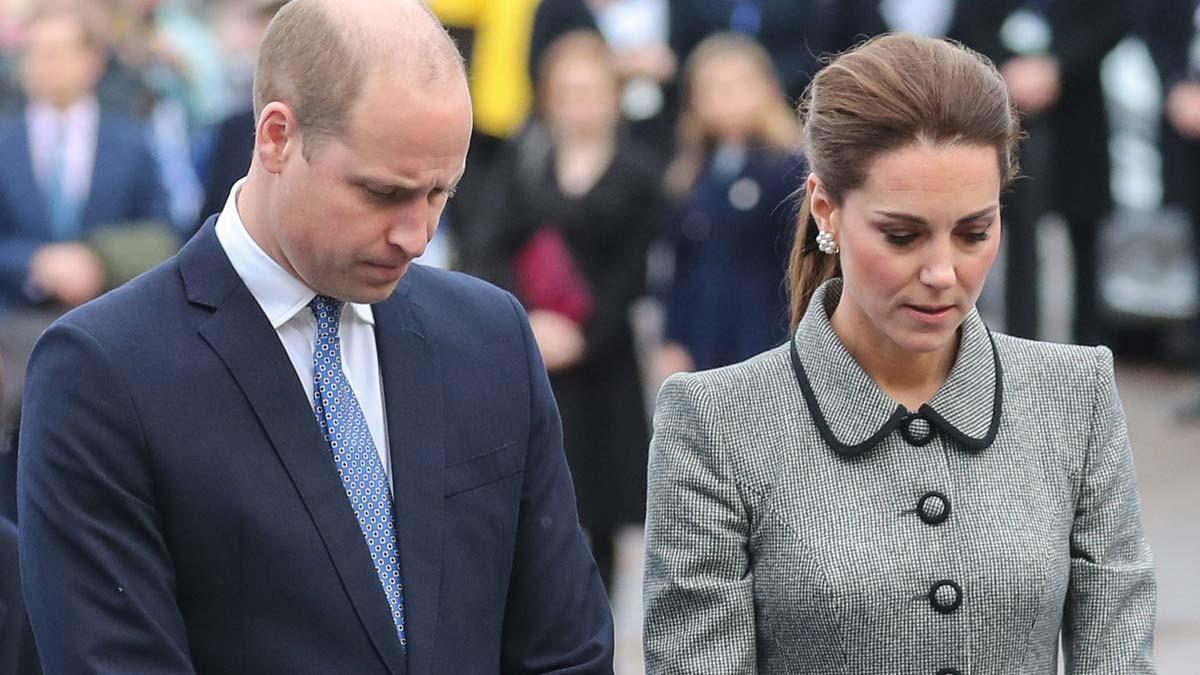 Muerte del perro de William y Kate